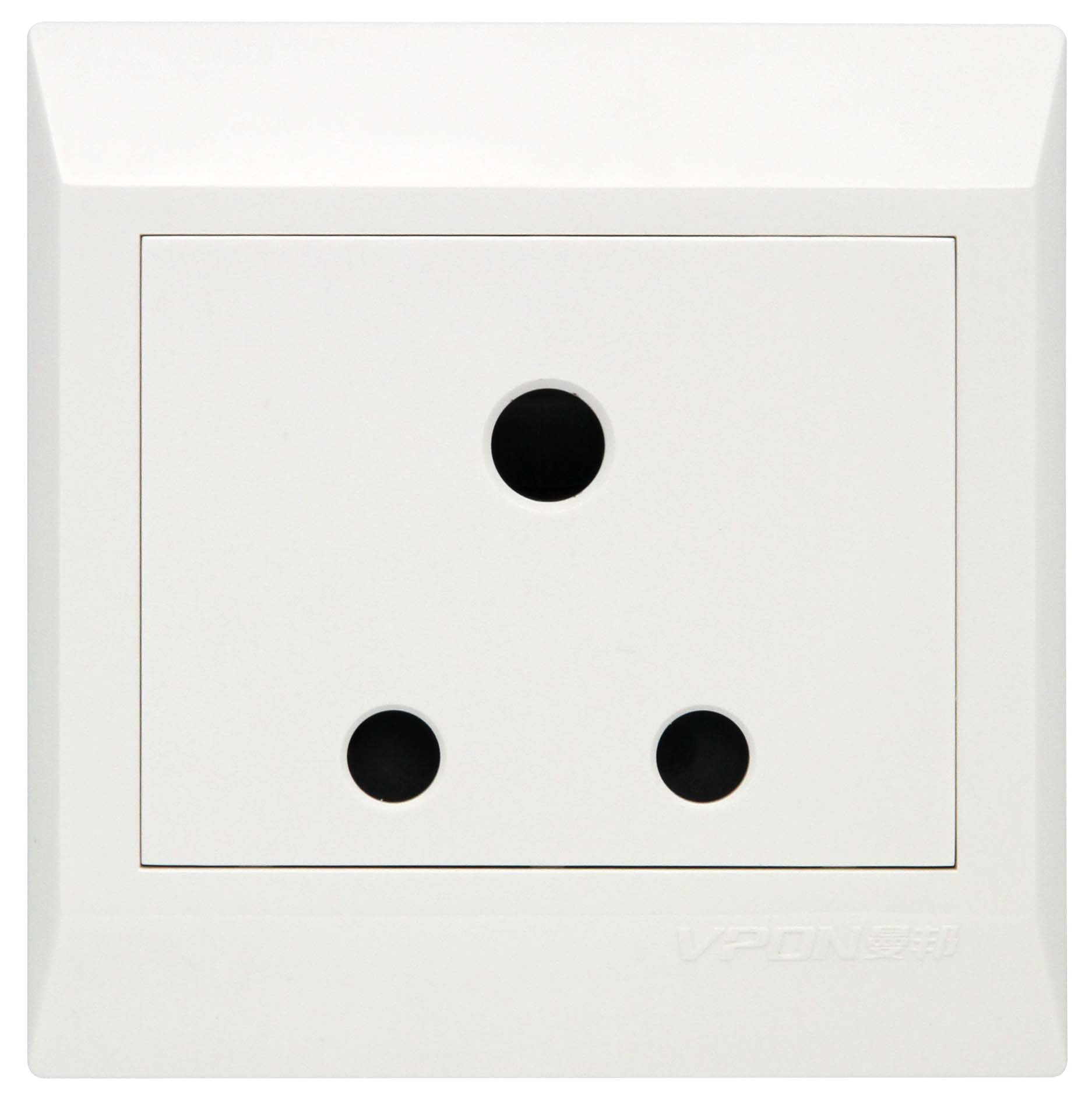 13A Big switch socket with led