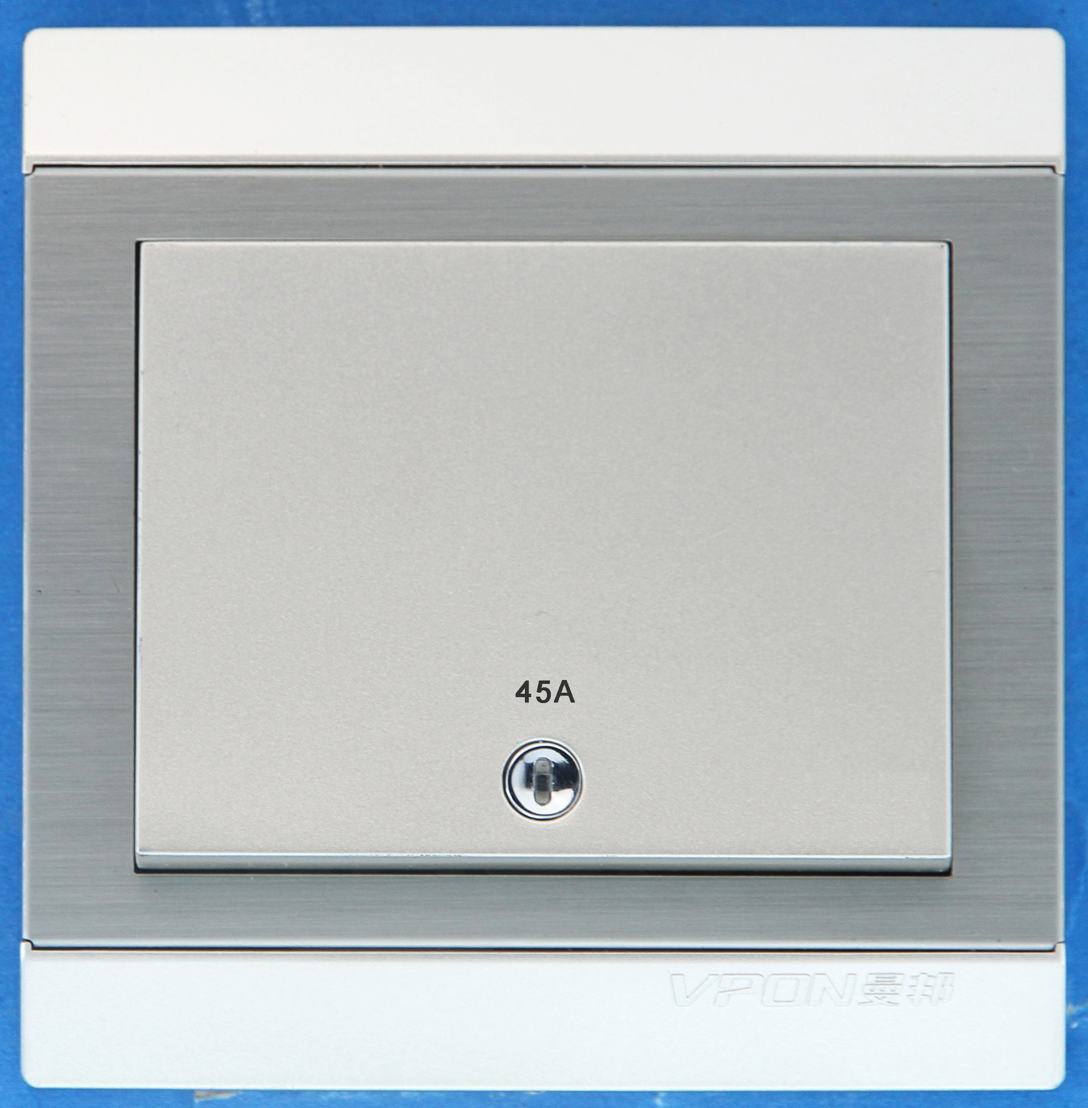 45A D/P wall switch with led