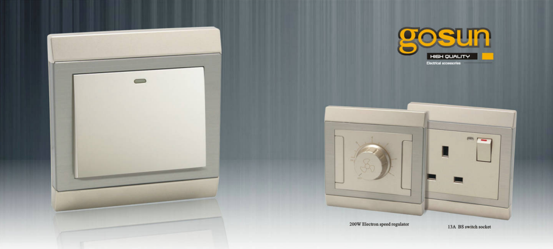 Gosun series wallswitch and socket