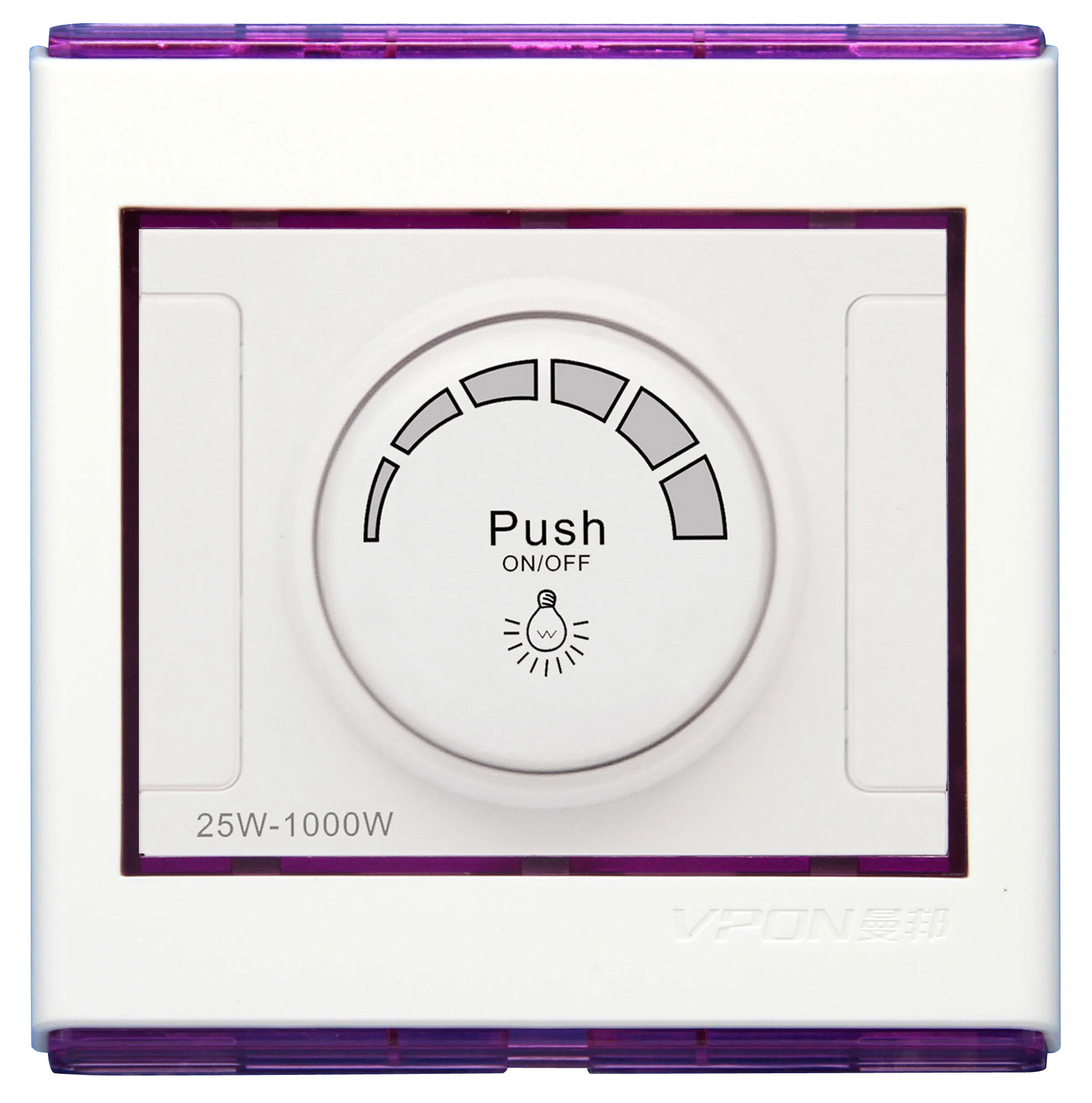 Light Dimmer (Push on/Off)