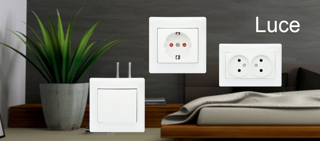 Livo Serise Wall switch and socket