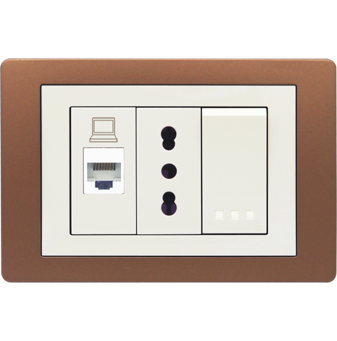 Pearl Series Wall switch and Wall socket