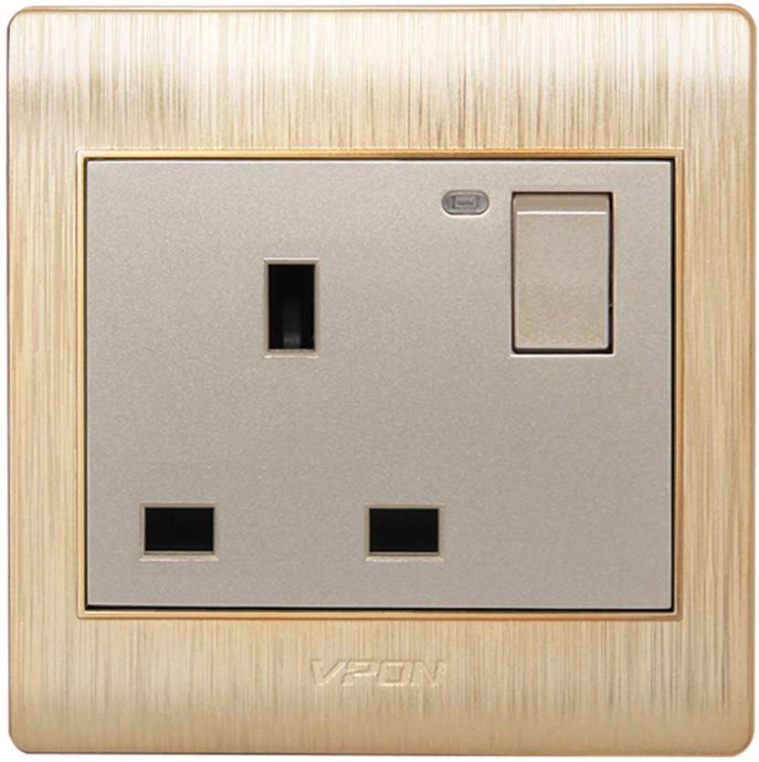 Prime series wall switch and wall socket