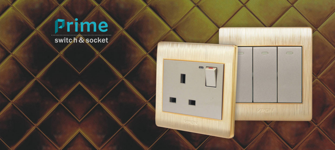 Prime series wall switch