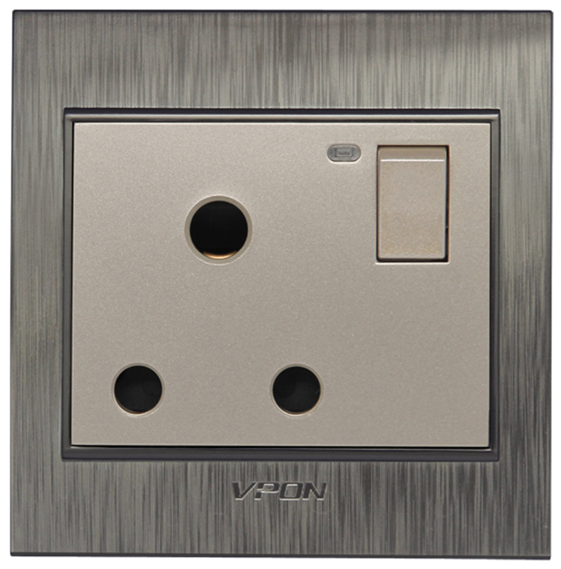 15A Power Wall Switch Socket with Led