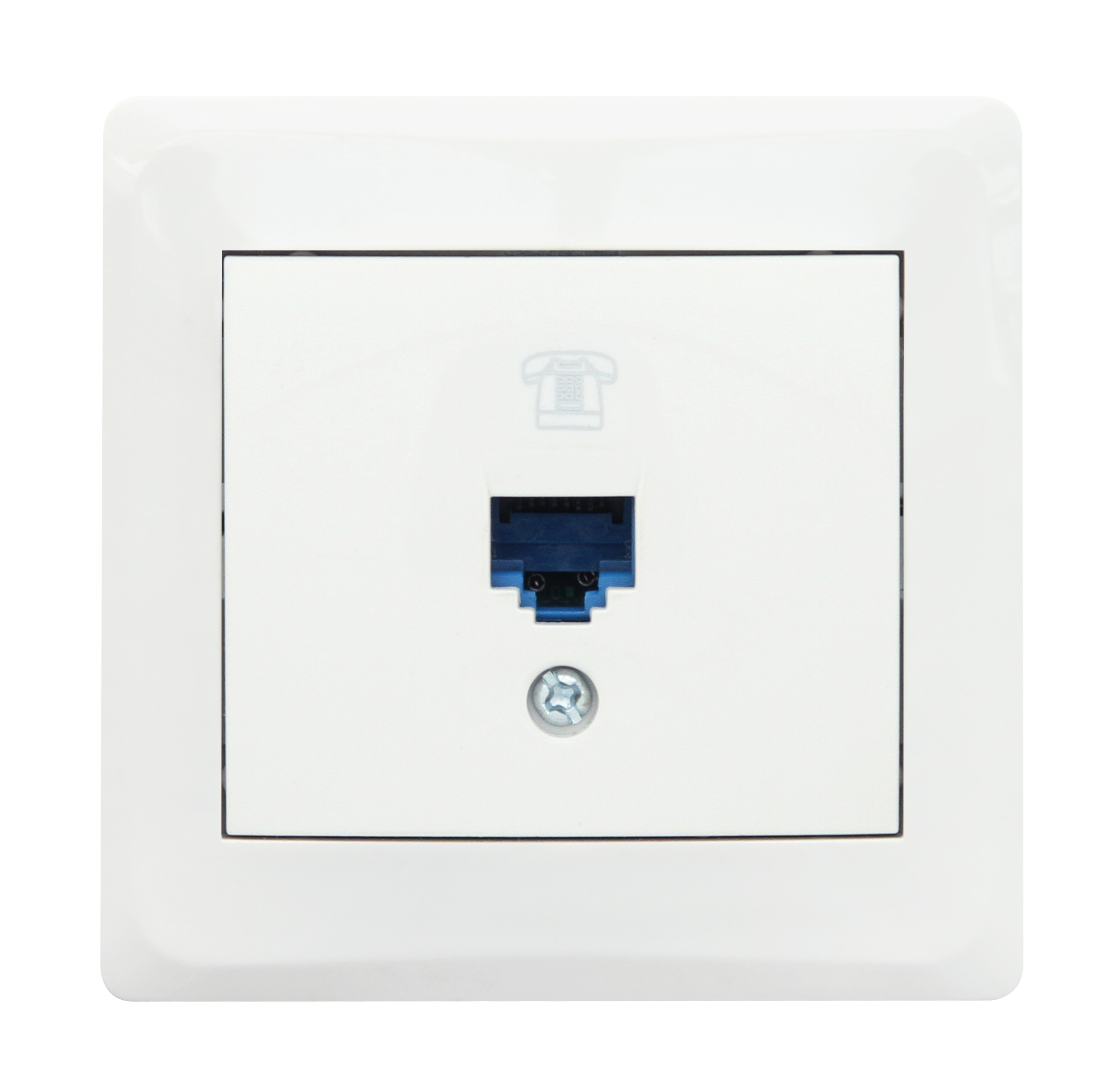 Numeris Telephone Socket Outlet -1 Gang
