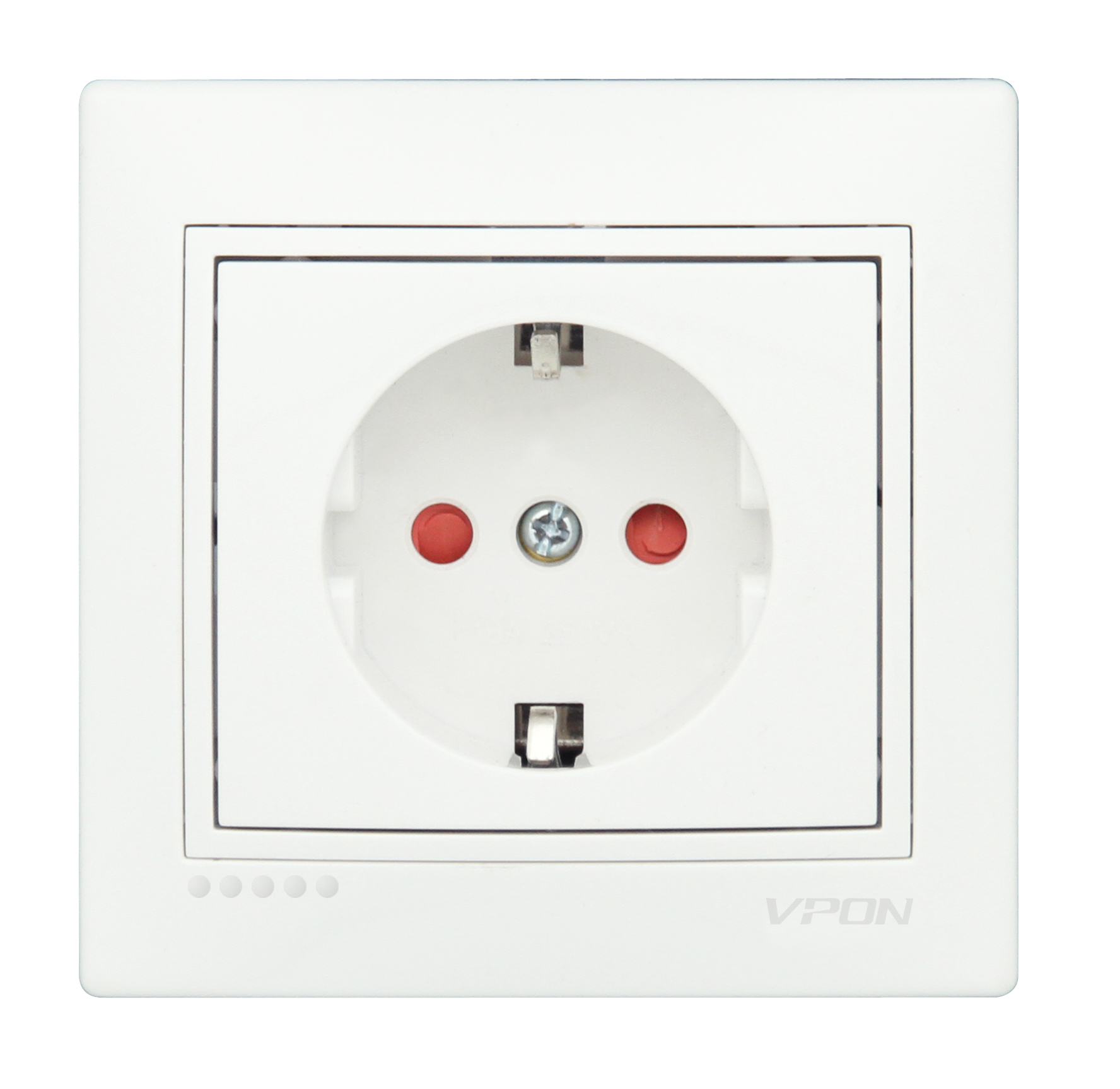 Child proof socket-Ceramic