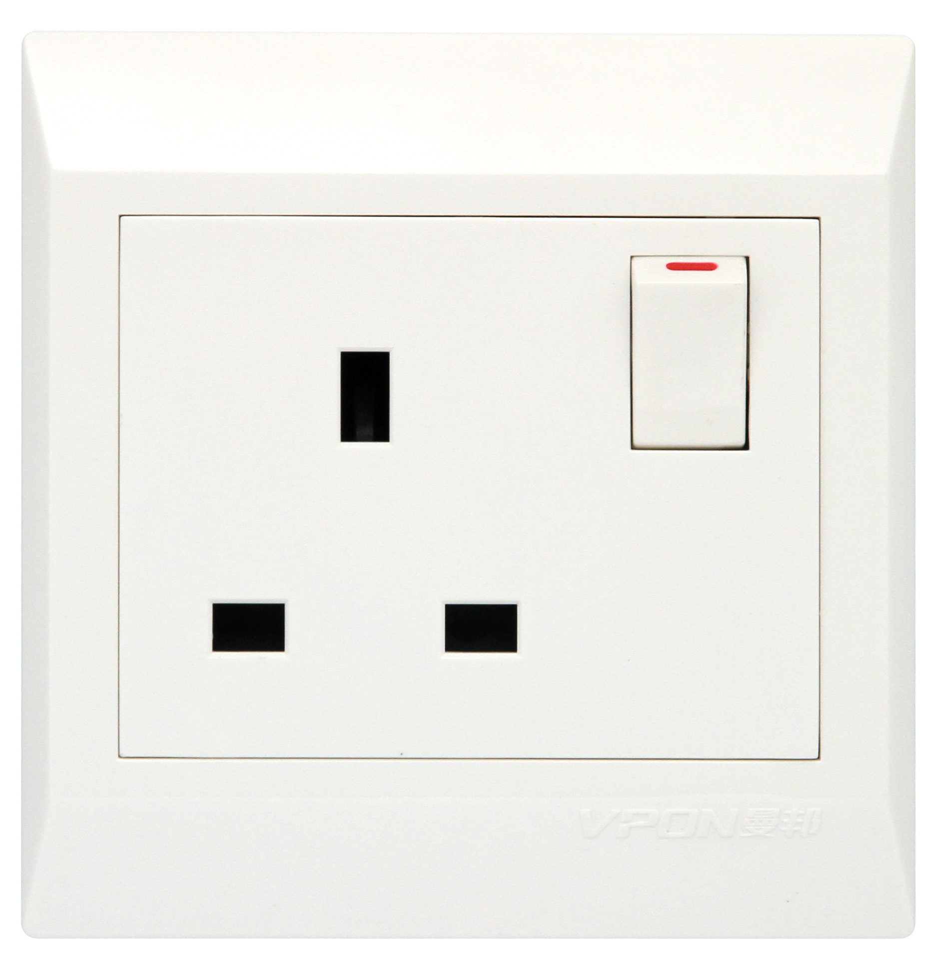13A switch and socket