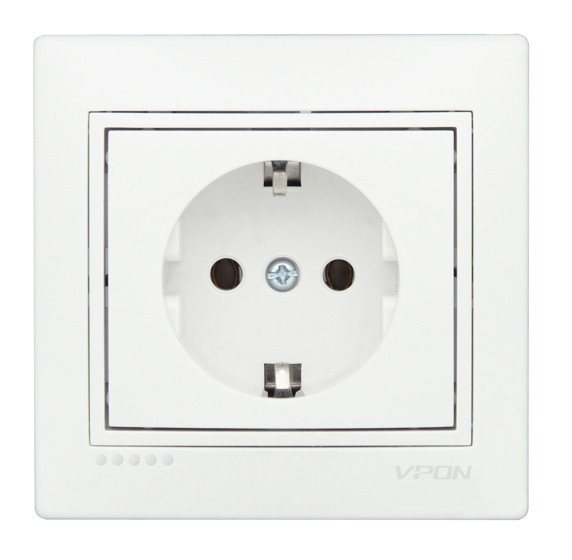 Socket Outlet Earthed-Ceramic
