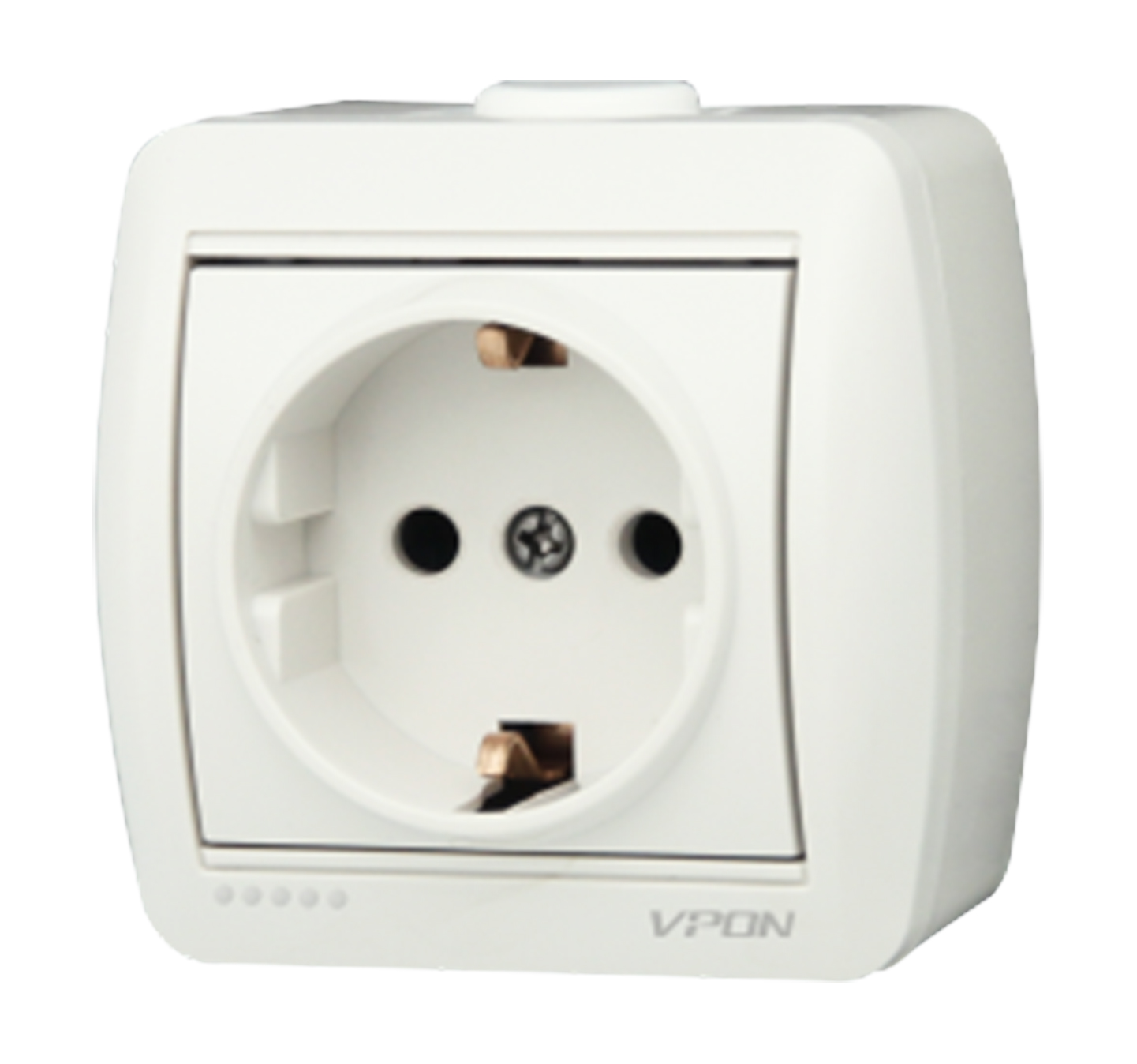 Socket outlet earth