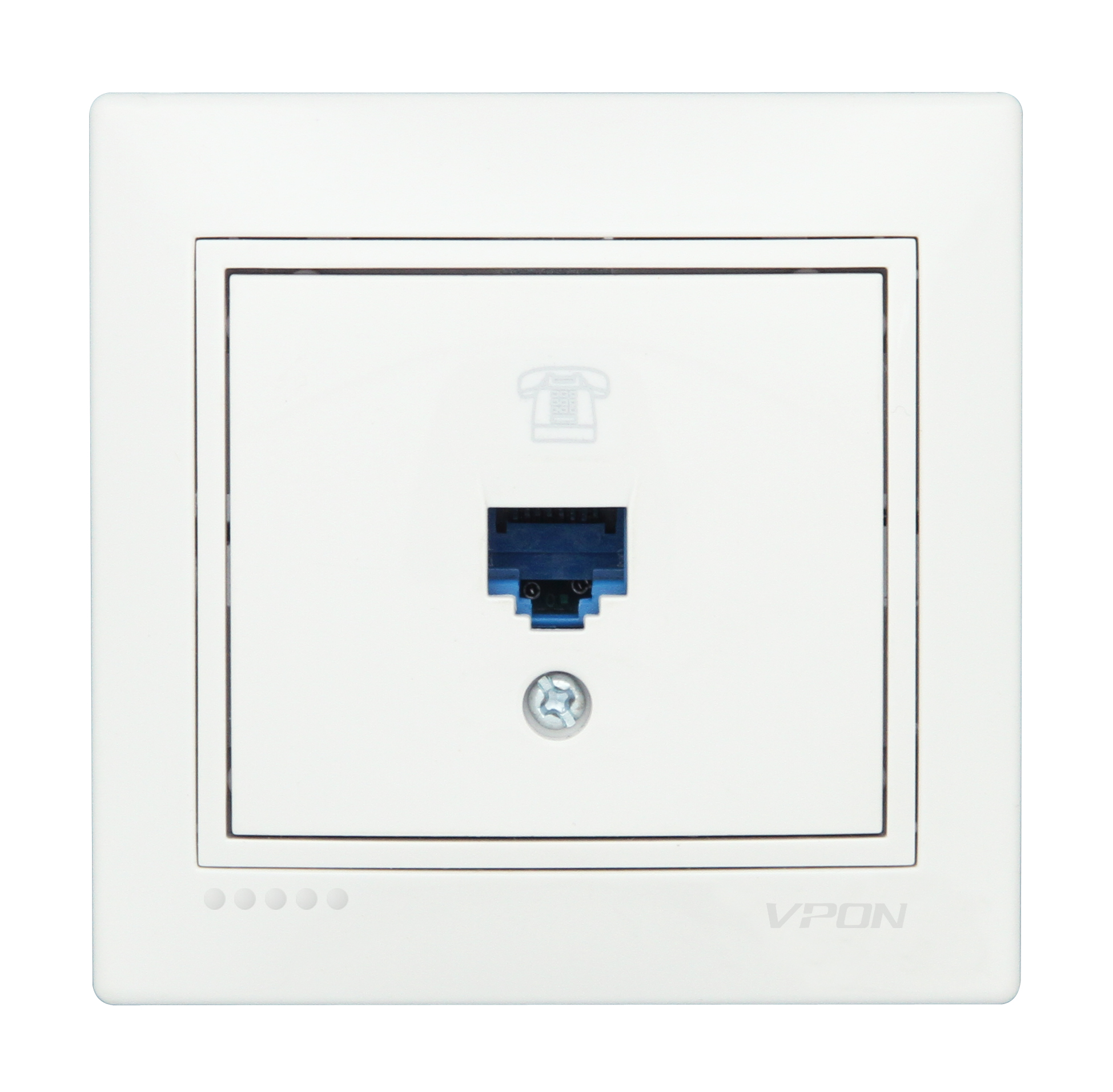 Numeris Telephone Socket Outlet-1 Gang