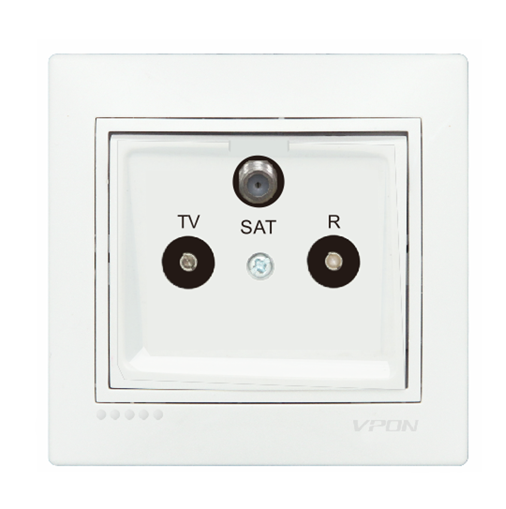 TV Radio Satelliet Socket Outlet